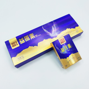 Laser tea packaging gift box